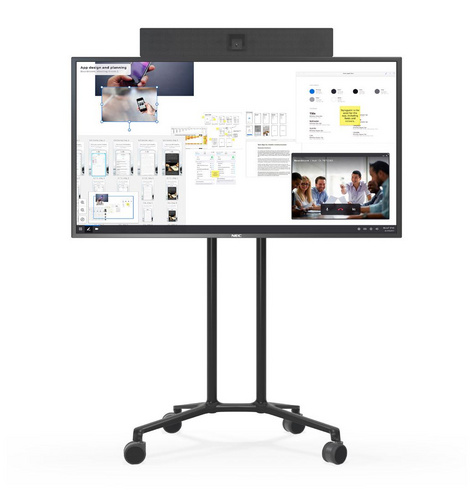 50″ All-in-One Mobile Huddle Solution