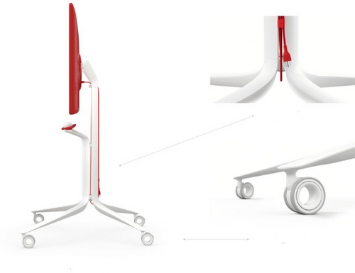 Jamboard Rolling Stand