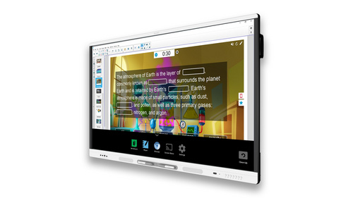 Board MX265 z iQ in s SMART Learning Suite